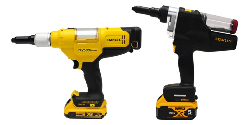 Stanley riveting drilling tools