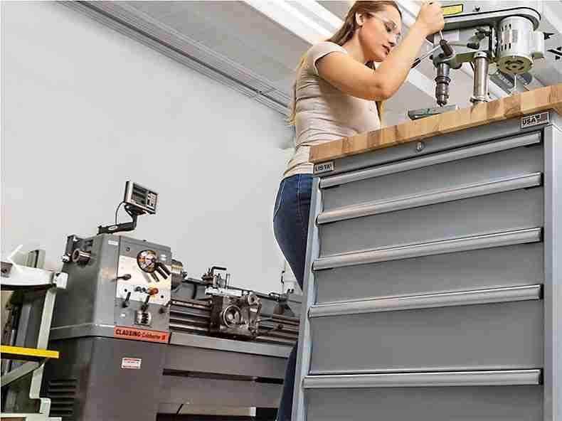 manufacturing workplace equipment storage
